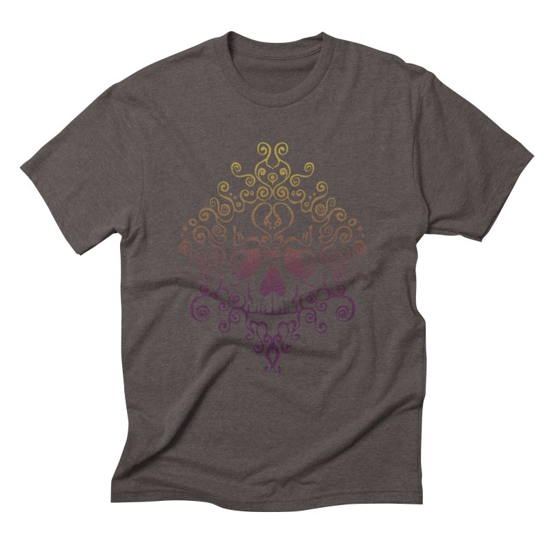 crazyskull No.8 Men's Triblend T-Shirt by crazy3dman's Artist Shop