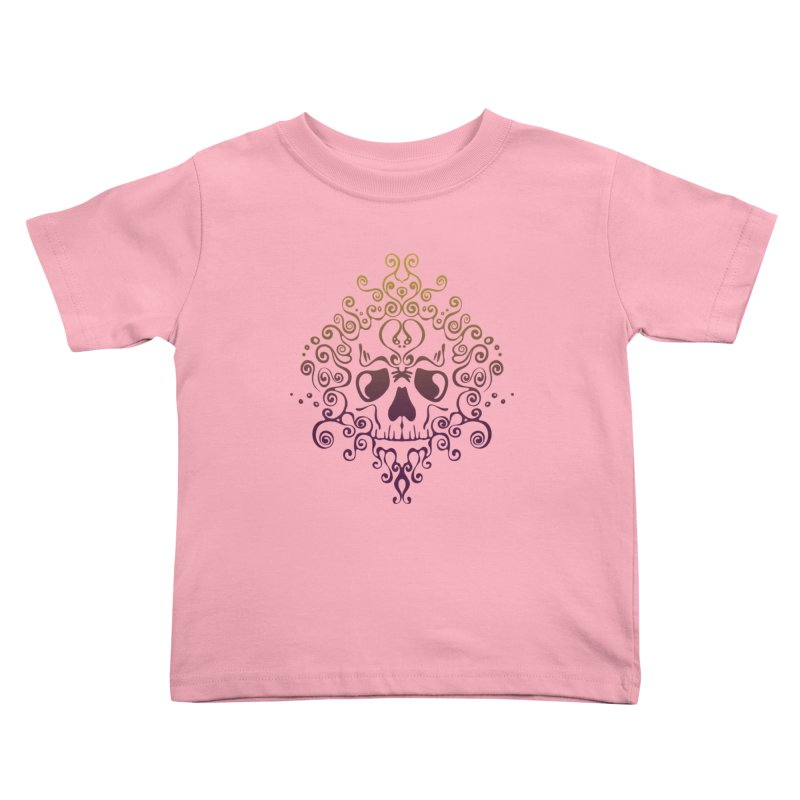 crazyskull No.8 Kids Toddler T-Shirt by crazy3dman's Artist Shop