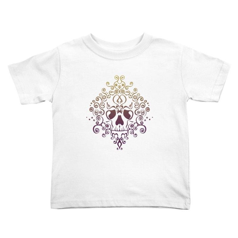 crazyskull No.8 Kids Toddler T-Shirt by crazy3dman's Artist Shop