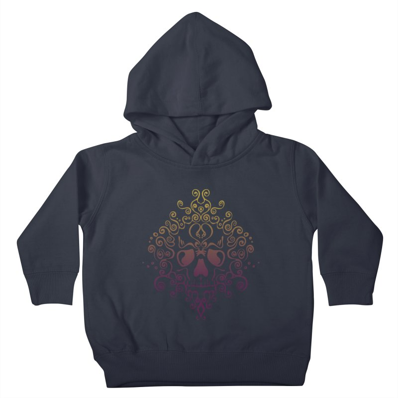 crazyskull No.8 Kids Toddler Pullover Hoody by crazy3dman's Artist Shop