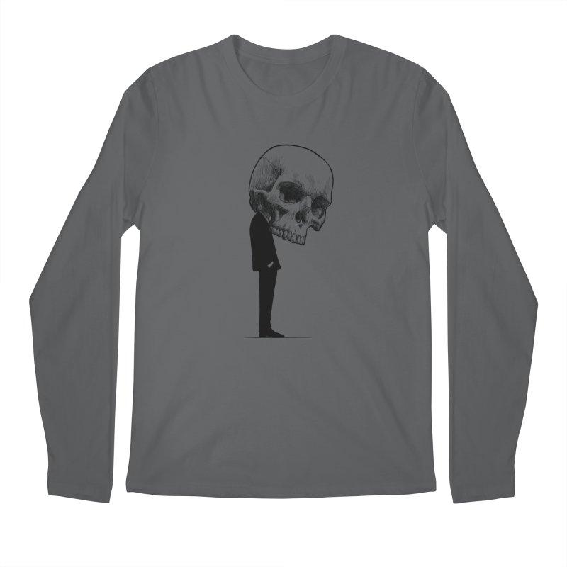 crazyskull No.9 Men's Longsleeve T-Shirt by crazy3dman's Artist Shop