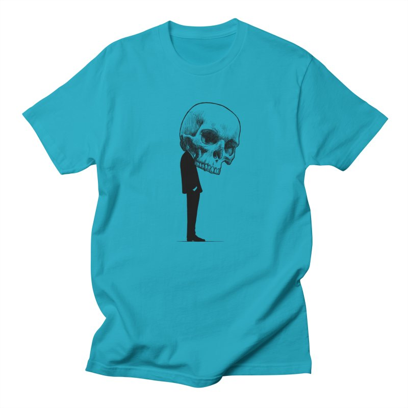crazyskull No.9 Men's T-shirt by crazy3dman's Artist Shop