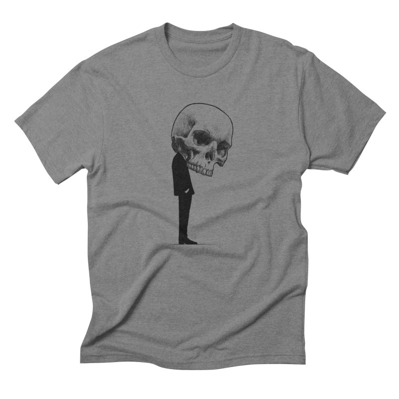crazyskull No.9 Men's Triblend T-Shirt by crazy3dman's Artist Shop
