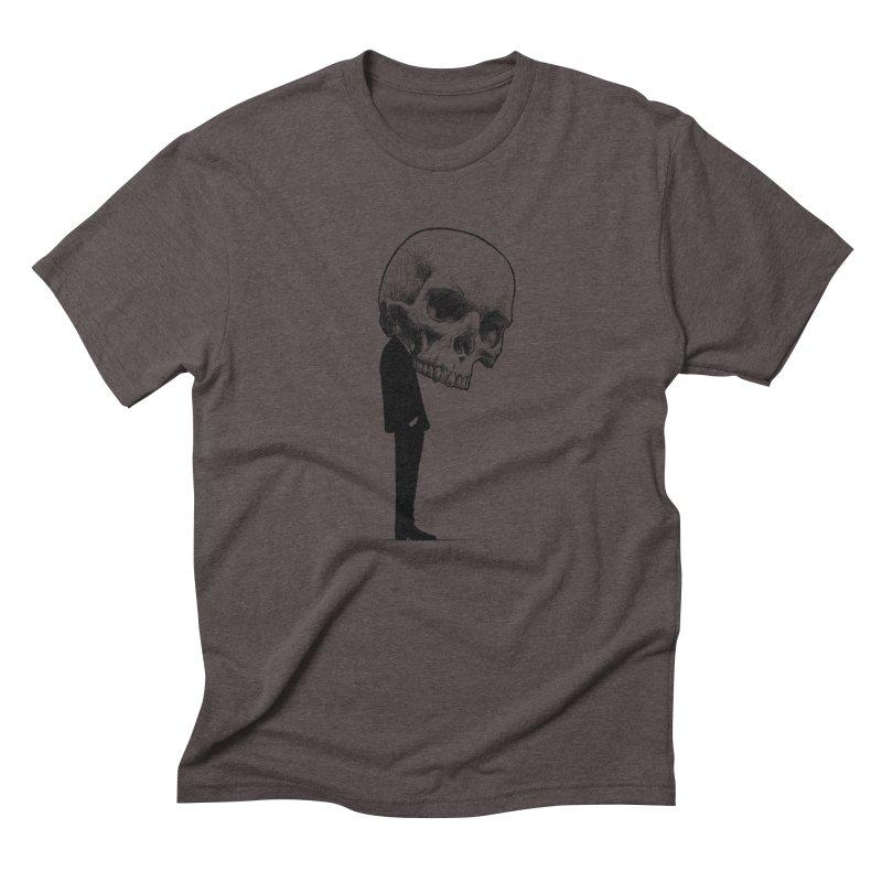 crazyskull No.9 Men's Triblend T-Shirt by crazy3dman's Artist Shop