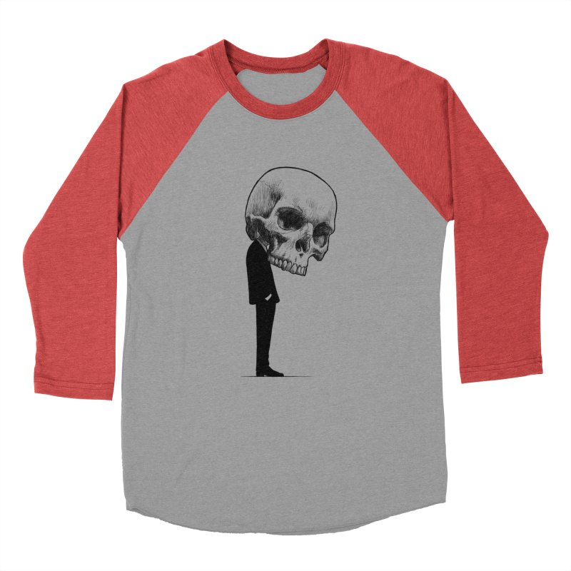 crazyskull No.9 Women's Baseball Triblend T-Shirt by crazy3dman's Artist Shop