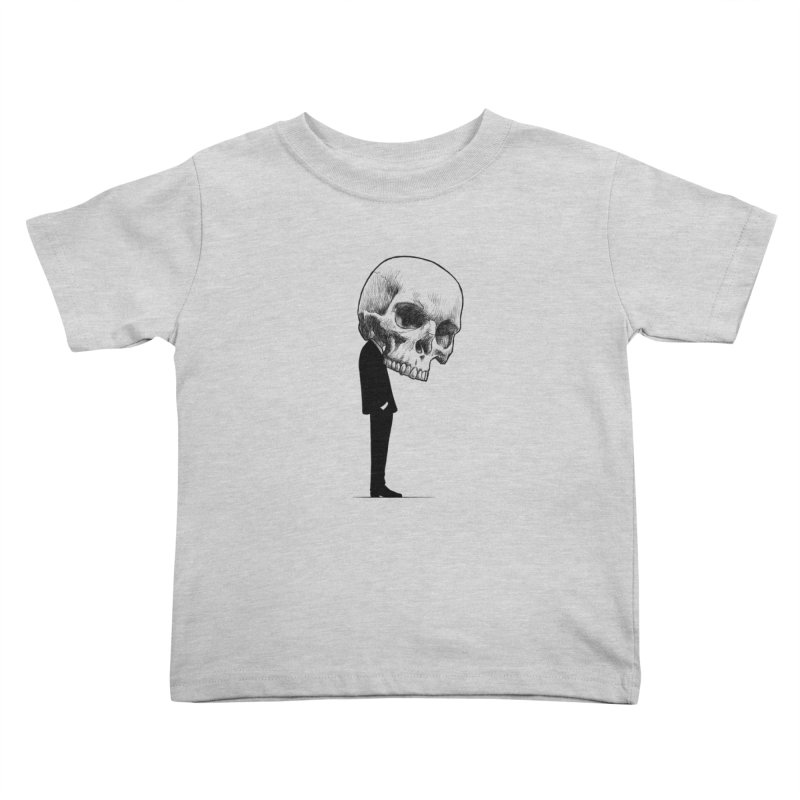 crazyskull No.9 Kids Toddler T-Shirt by crazy3dman's Artist Shop