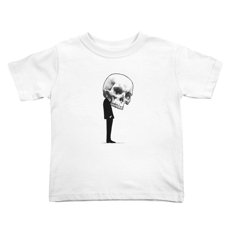 crazyskull No.9 Kids Toddler T-Shirt by crazy3dman's Artist Shop
