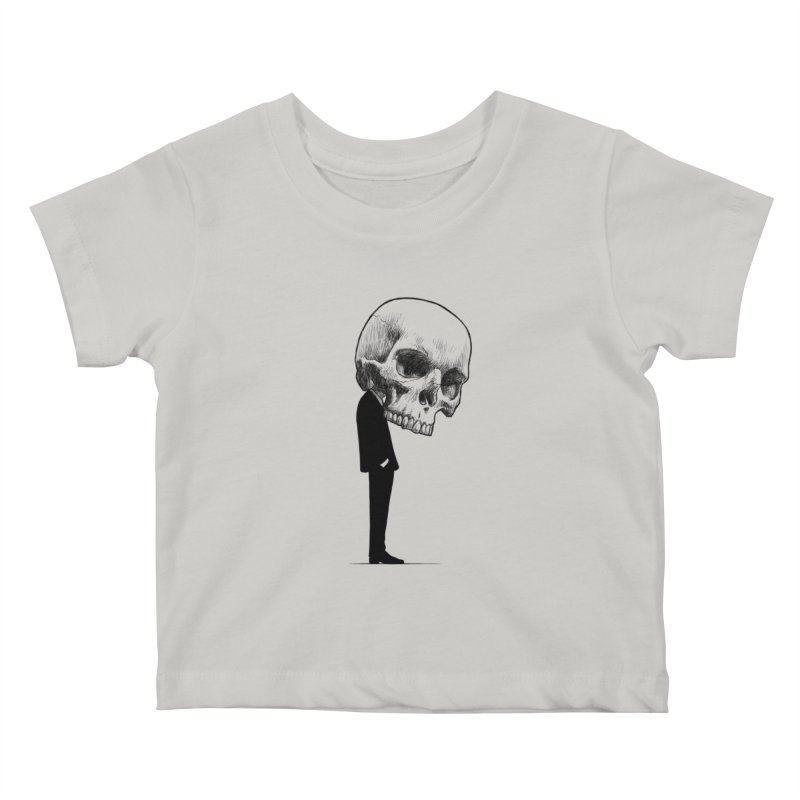 crazyskull No.9 Kids Baby T-Shirt by crazy3dman's Artist Shop