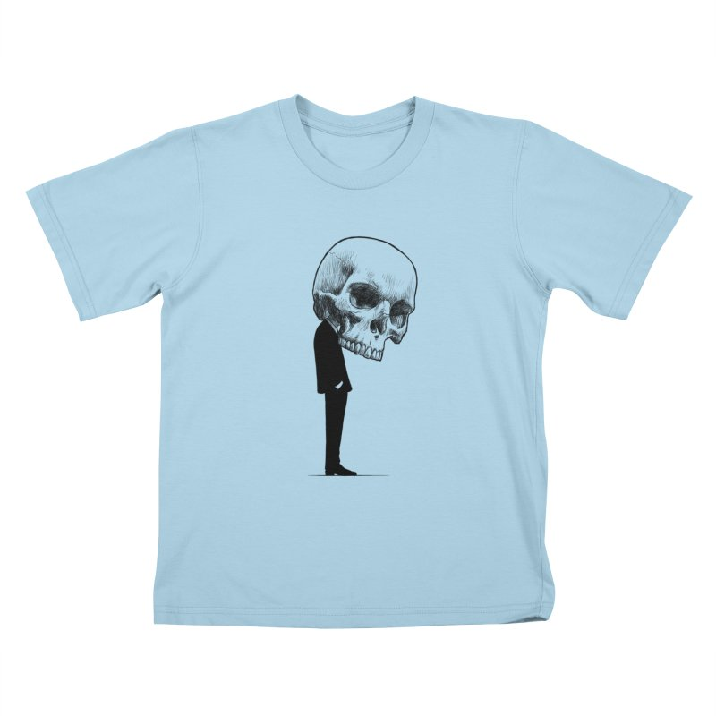 crazyskull No.9 Kids T-Shirt by crazy3dman's Artist Shop