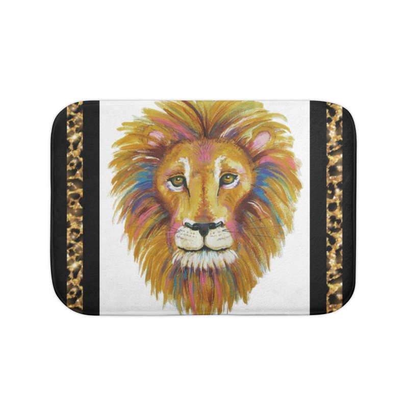His Majesty Home Bath Mat by Creations of Joy's Artist Shop