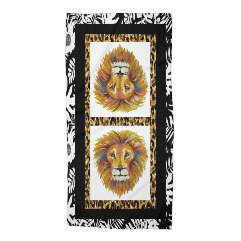His Majesty Accessories Beach Towel by Creations of Joy's Artist Shop