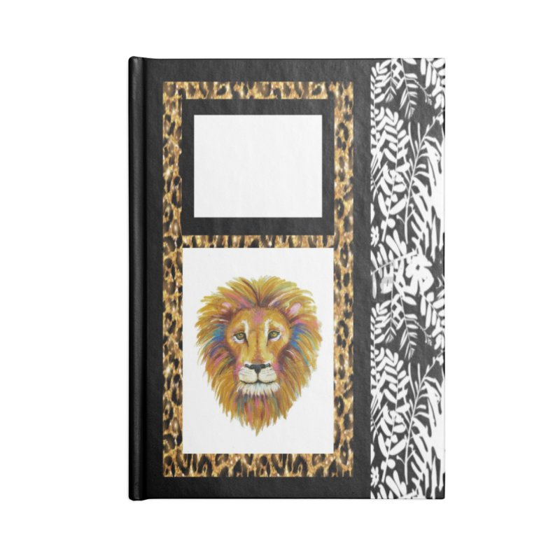 His Majesty Accessories Lined Journal Notebook by Creations of Joy's Artist Shop