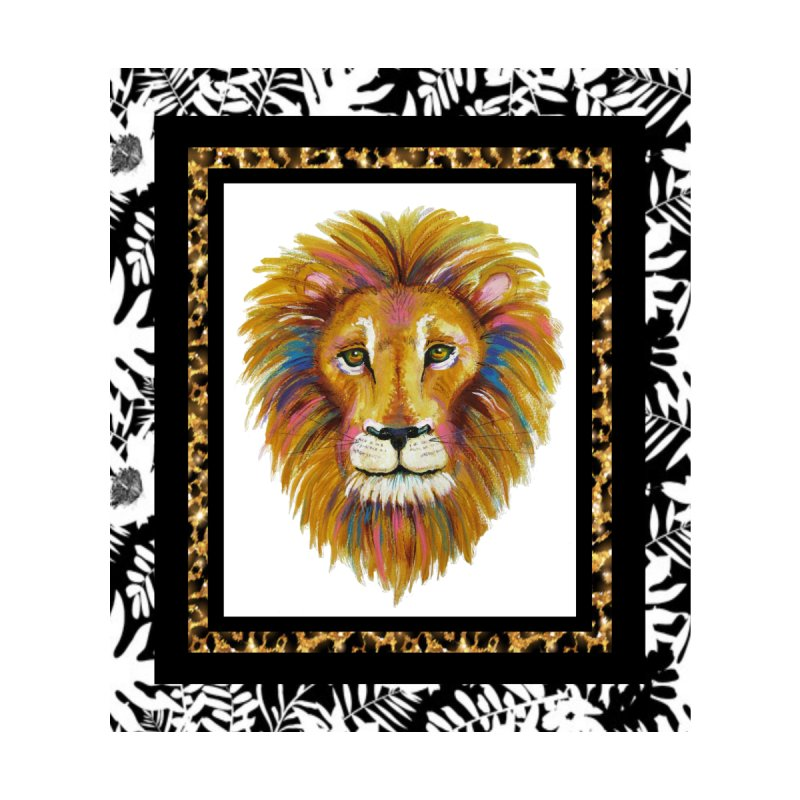 His Majesty Home Shower Curtain by Creations of Joy's Artist Shop