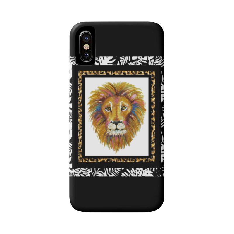His Majesty Accessories Phone Case by Creations of Joy's Artist Shop