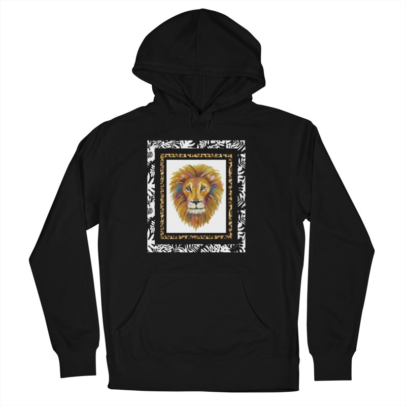 His Majesty Men's French Terry Pullover Hoody by Creations of Joy's Artist Shop