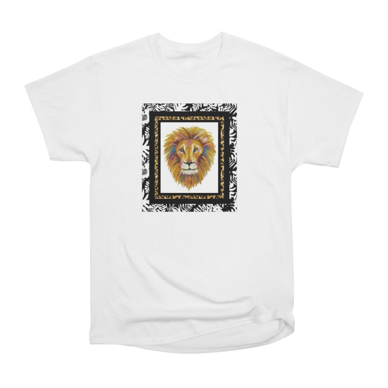 His Majesty Men's Heavyweight T-Shirt by Creations of Joy's Artist Shop