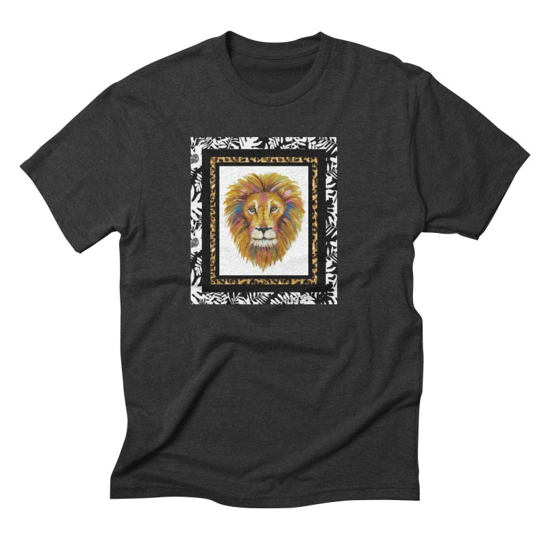His Majesty Men's Triblend T-Shirt by Creations of Joy's Artist Shop