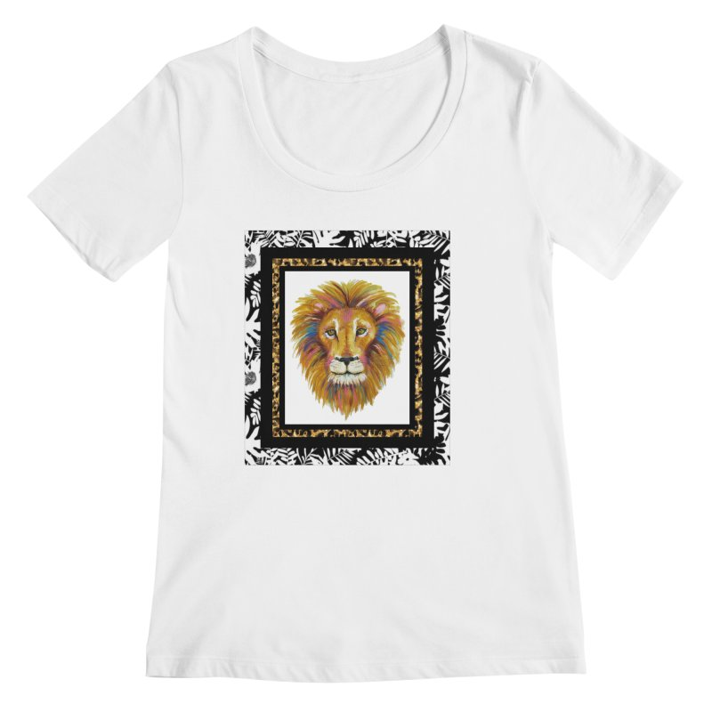 His Majesty Women's Regular Scoop Neck by Creations of Joy's Artist Shop