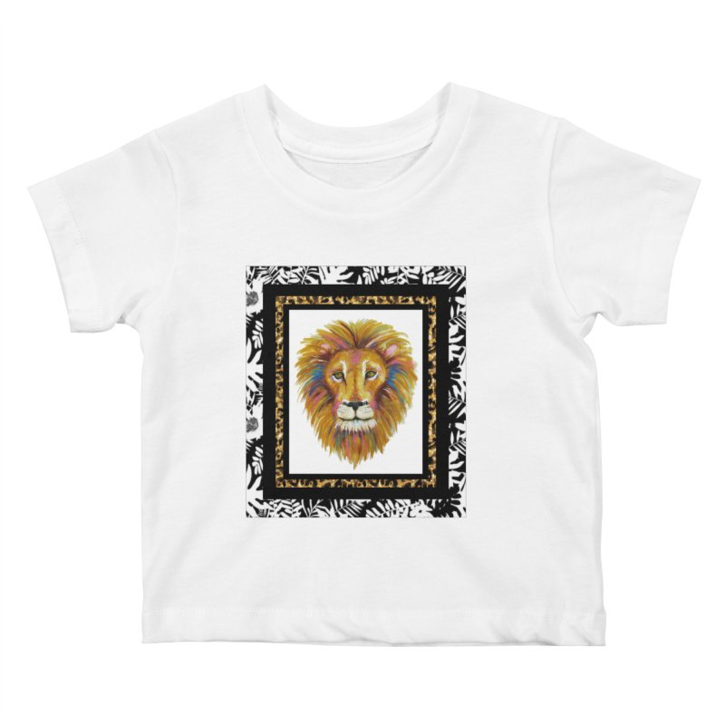 His Majesty Kids Baby T-Shirt by Creations of Joy's Artist Shop