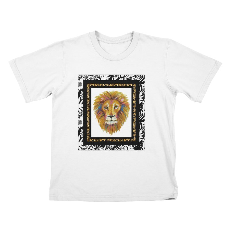 His Majesty Kids T-Shirt by Creations of Joy's Artist Shop