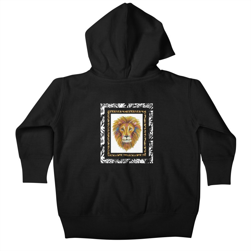 His Majesty Kids Baby Zip-Up Hoody by Creations of Joy's Artist Shop