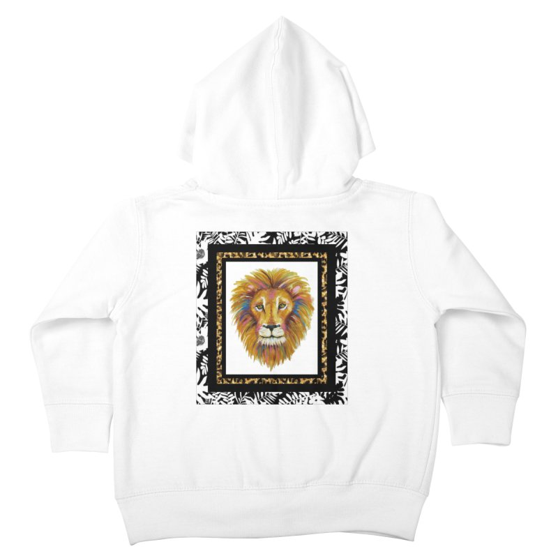 His Majesty Kids Toddler Zip-Up Hoody by Creations of Joy's Artist Shop