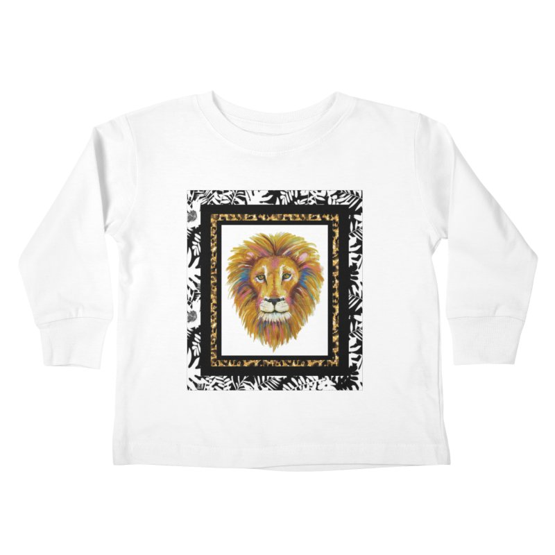 His Majesty Kids Toddler Longsleeve T-Shirt by Creations of Joy's Artist Shop