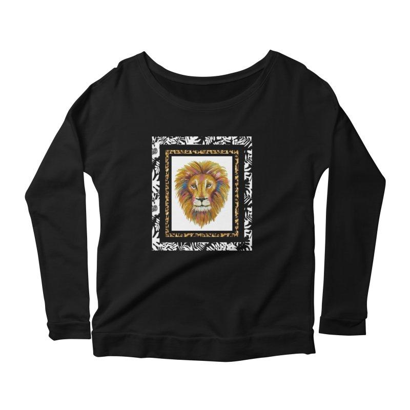 His Majesty Women's Scoop Neck Longsleeve T-Shirt by Creations of Joy's Artist Shop