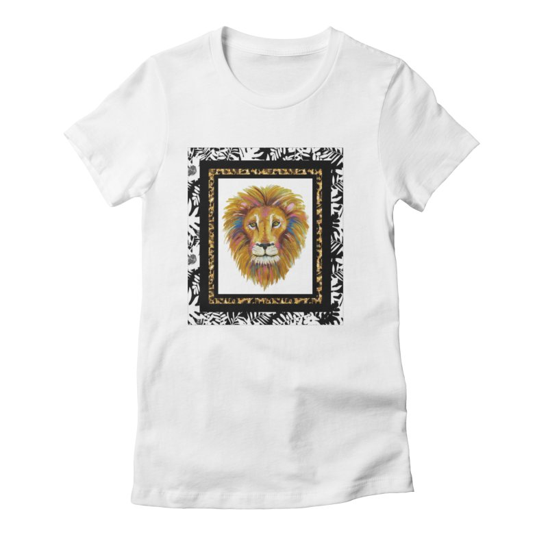 His Majesty Women's Fitted T-Shirt by Creations of Joy's Artist Shop