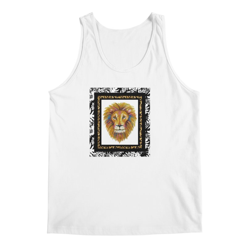 His Majesty in Men's Tank White by Creations of Joy's Artist Shop