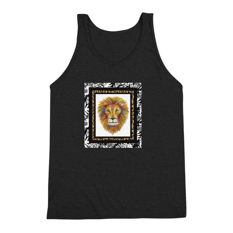 His Majesty Men's Triblend Tank by Creations of Joy's Artist Shop