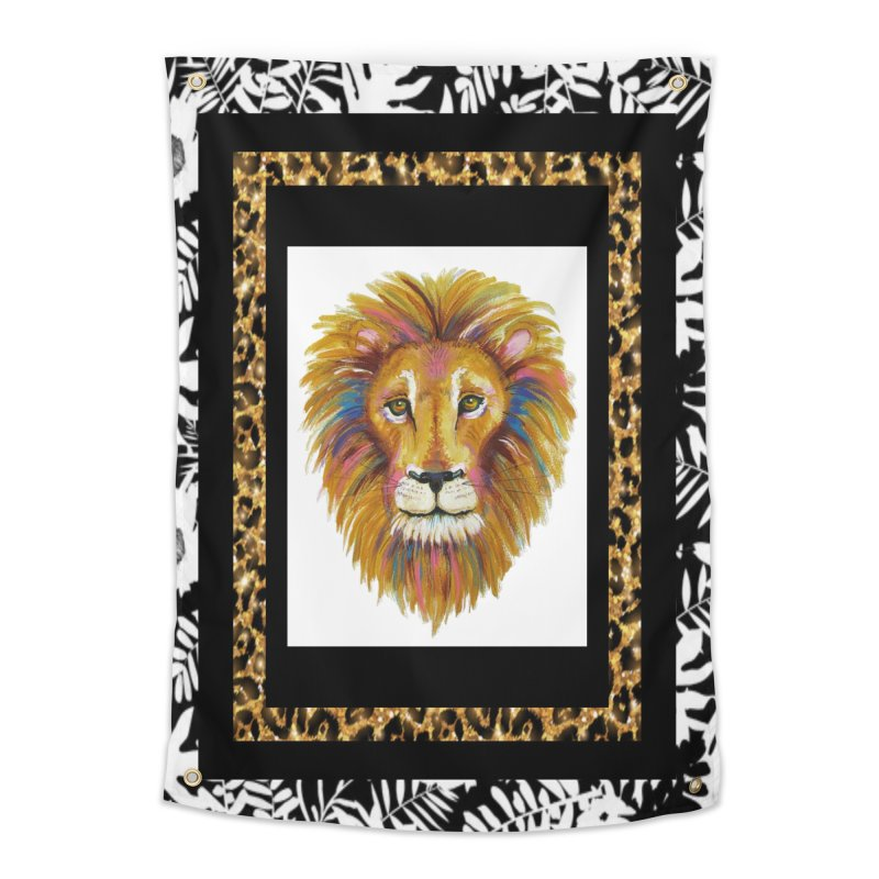 His Majesty Home Tapestry by Creations of Joy's Artist Shop