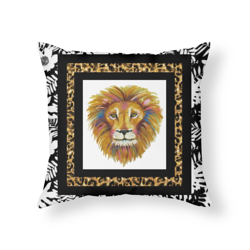 His Majesty Home Throw Pillow by Creations of Joy's Artist Shop