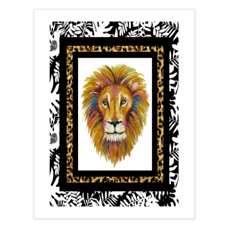 His Majesty Home Fine Art Print by Creations of Joy's Artist Shop