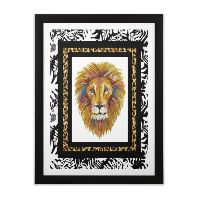 His Majesty Home Framed Fine Art Print by Creations of Joy's Artist Shop