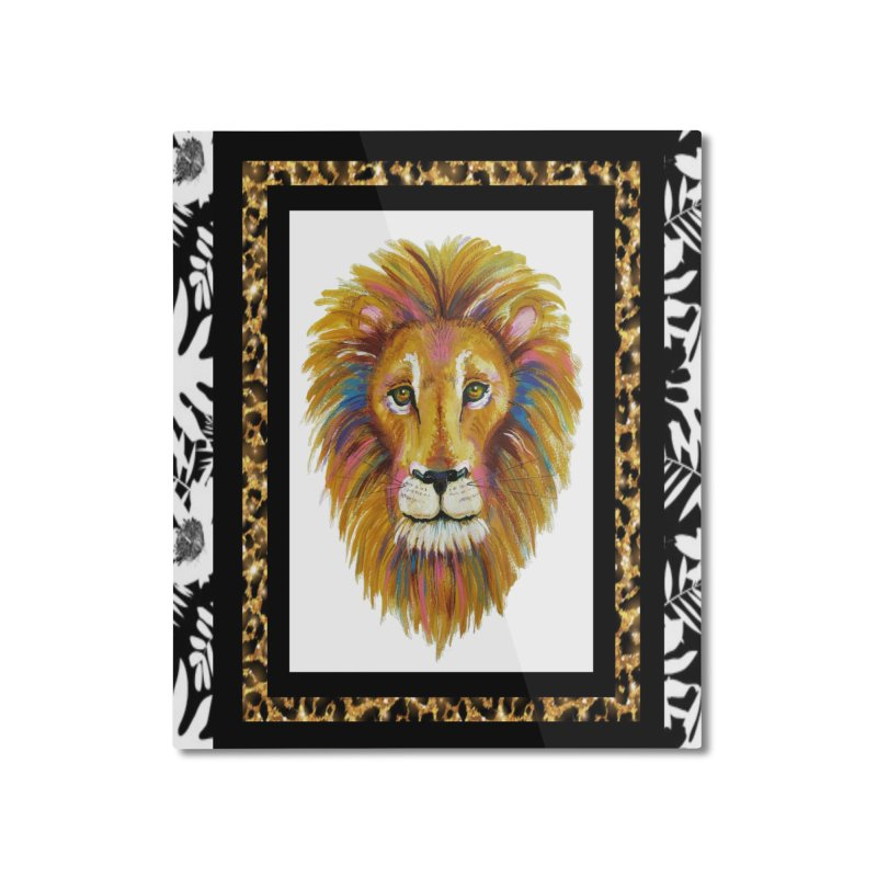 His Majesty Home Mounted Aluminum Print by Creations of Joy's Artist Shop