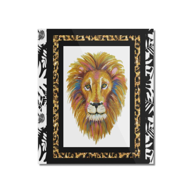 His Majesty Home Mounted Acrylic Print by Creations of Joy's Artist Shop