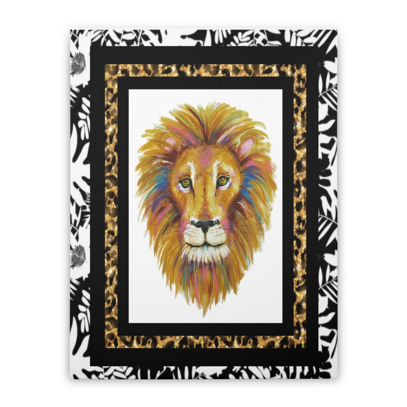 His Majesty Home Stretched Canvas by Creations of Joy's Artist Shop