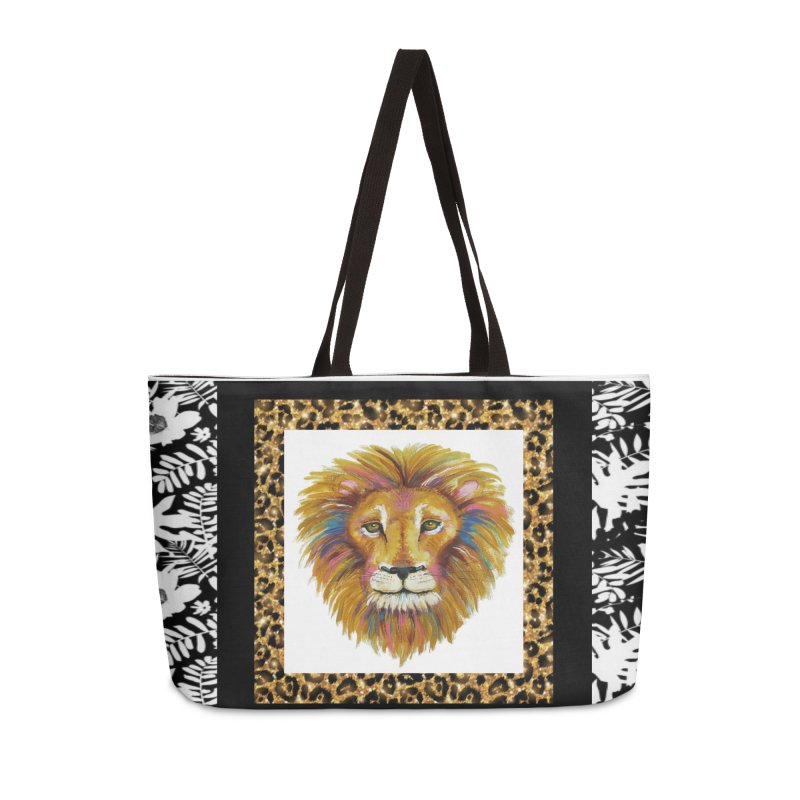 His Majesty Accessories Weekender Bag Bag by Creations of Joy's Artist Shop