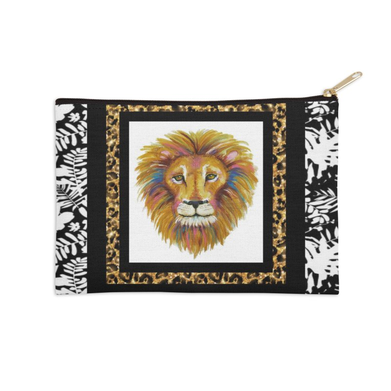 His Majesty Accessories Zip Pouch by Creations of Joy's Artist Shop
