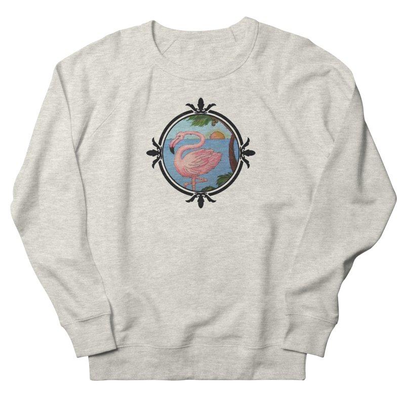 Flamingo Paradise Women's Sweatshirt by Creations of Joy's Artist Shop