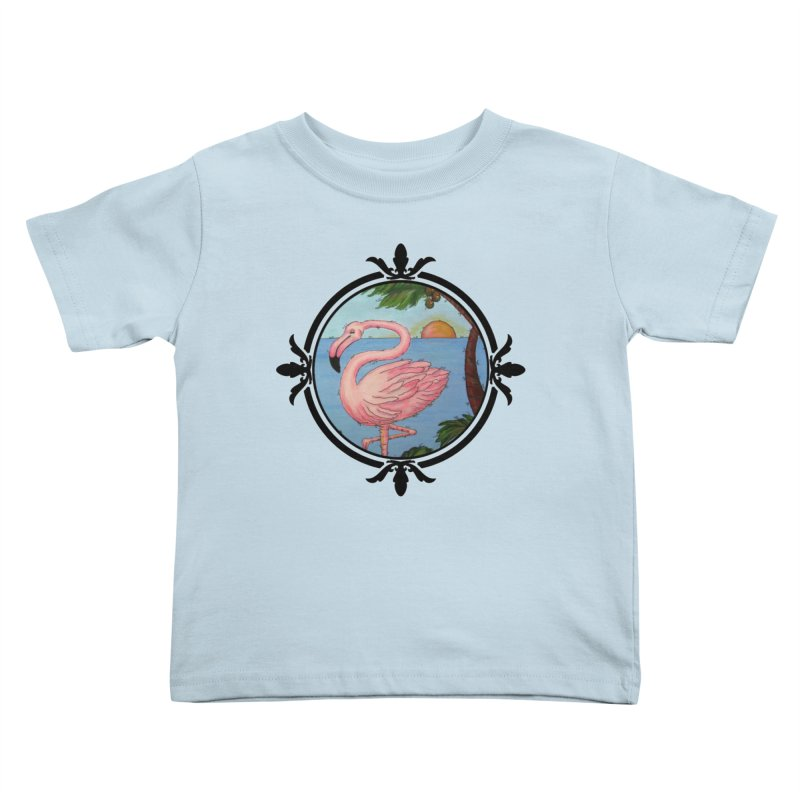 Flamingo Paradise Kids  by Creations of Joy's Artist Shop