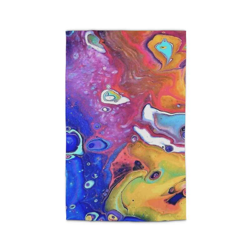 Wild and Crazy Acrylic Flow Home Rug by Creations of Joy's Artist Shop