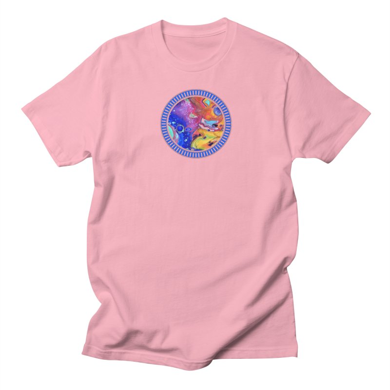 Wild and Crazy Acrylic Flow Women's Unisex T-Shirt by Creations of Joy's Artist Shop