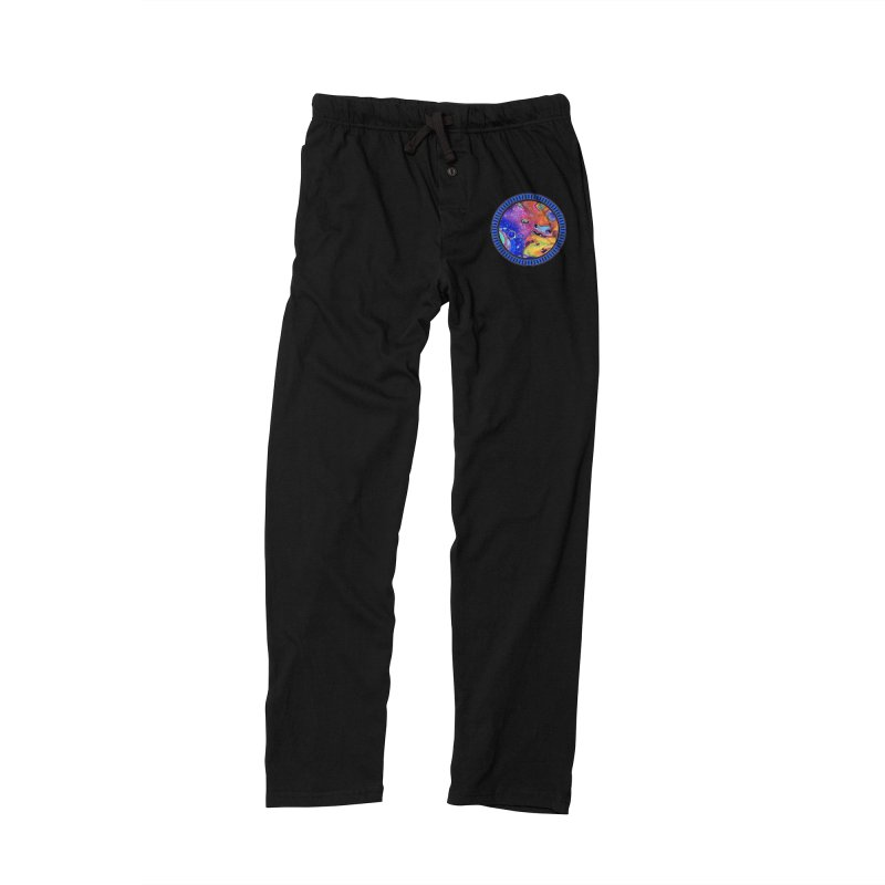 Wild and Crazy Acrylic Flow Men's Lounge Pants by Creations of Joy's Artist Shop