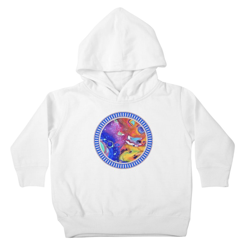 Wild and Crazy Acrylic Flow Kids Toddler Pullover Hoody by Creations of Joy's Artist Shop