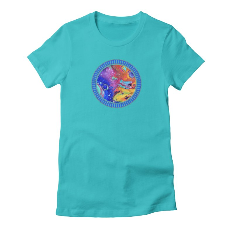 Wild and Crazy Acrylic Flow Women's  by Creations of Joy's Artist Shop