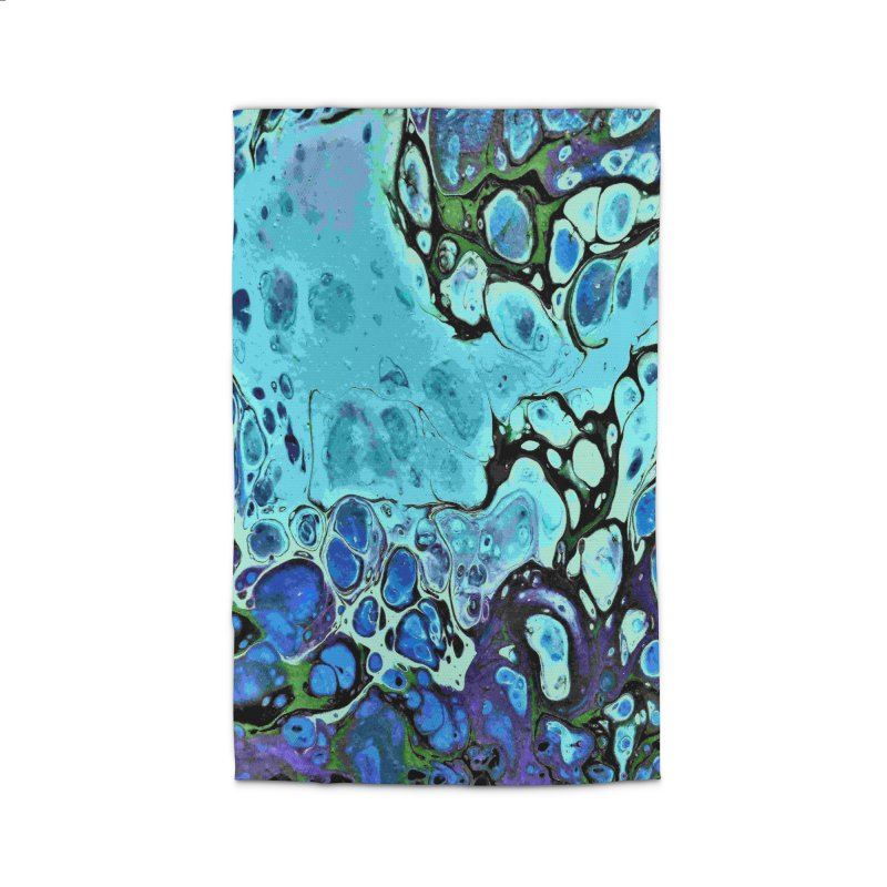 Sea Scape Acrylic Flow Home Rug by Creations of Joy's Artist Shop