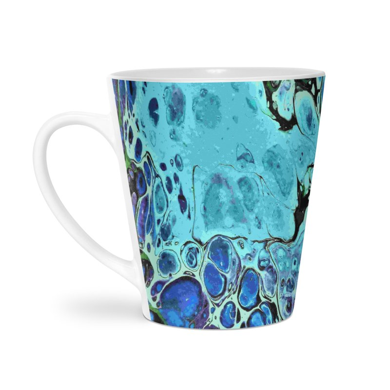 Sea Scape Acrylic Flow Accessories Latte Mug by Creations of Joy's Artist Shop