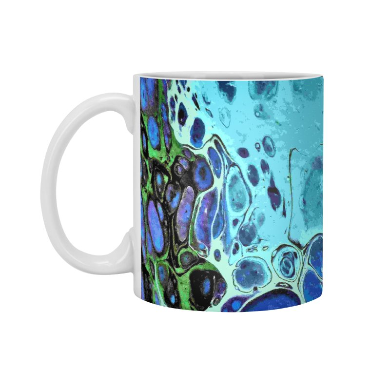 Sea Scape Acrylic Flow Accessories Standard Mug by Creations of Joy's Artist Shop